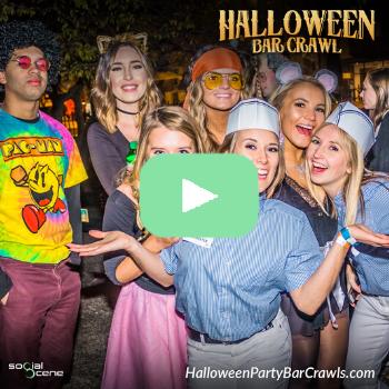 2019 Dallas Halloween Bar Crawl Recap 120