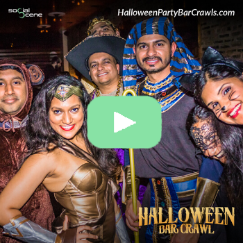 2019 Chicago Halloween Bar Crawl Recap Video 60