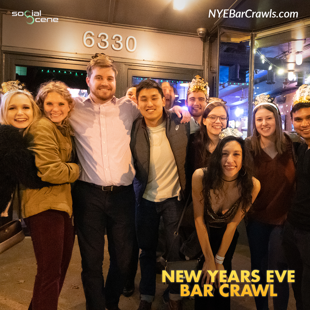 2020 Denver New Year's Eve(NYE) Bar Crawl Recap 30