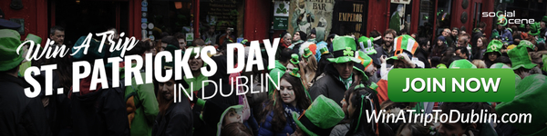 Win a Trip to Dublin in St. Patrick's day