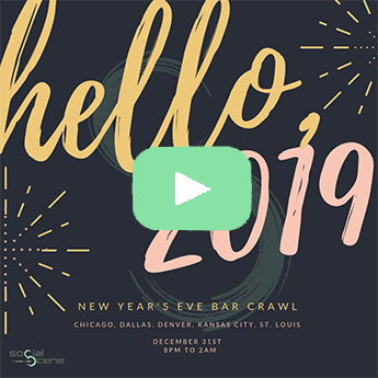 2019 NYE Bar Crawl Thank You
