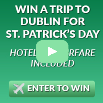 Win A Trip To Dublin This St Patrick's Day